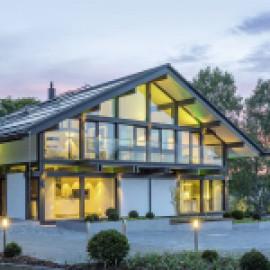 Окна Schuco для фахверковых домов в этническом стиле