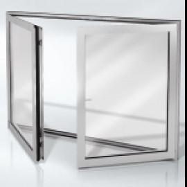 Окна и двери с штульповым способом открывания компании Schüco