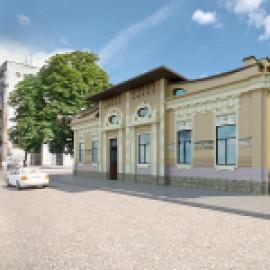 Реконструкция фасада «Чайного дома»
