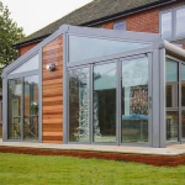 Зимний сад – каминная комната + 3d модель