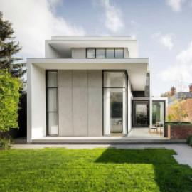 Редизайн дома с внутренним двориком