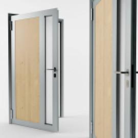 Алюминиевые двери Schuco, какими они могут быть?
