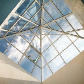 Проектирование стеклянных крыш и зенитных фонарей Schuco