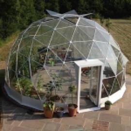 Зимний сад Schuco в виде купола