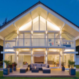 Пристежные балконы для фахверковых домов