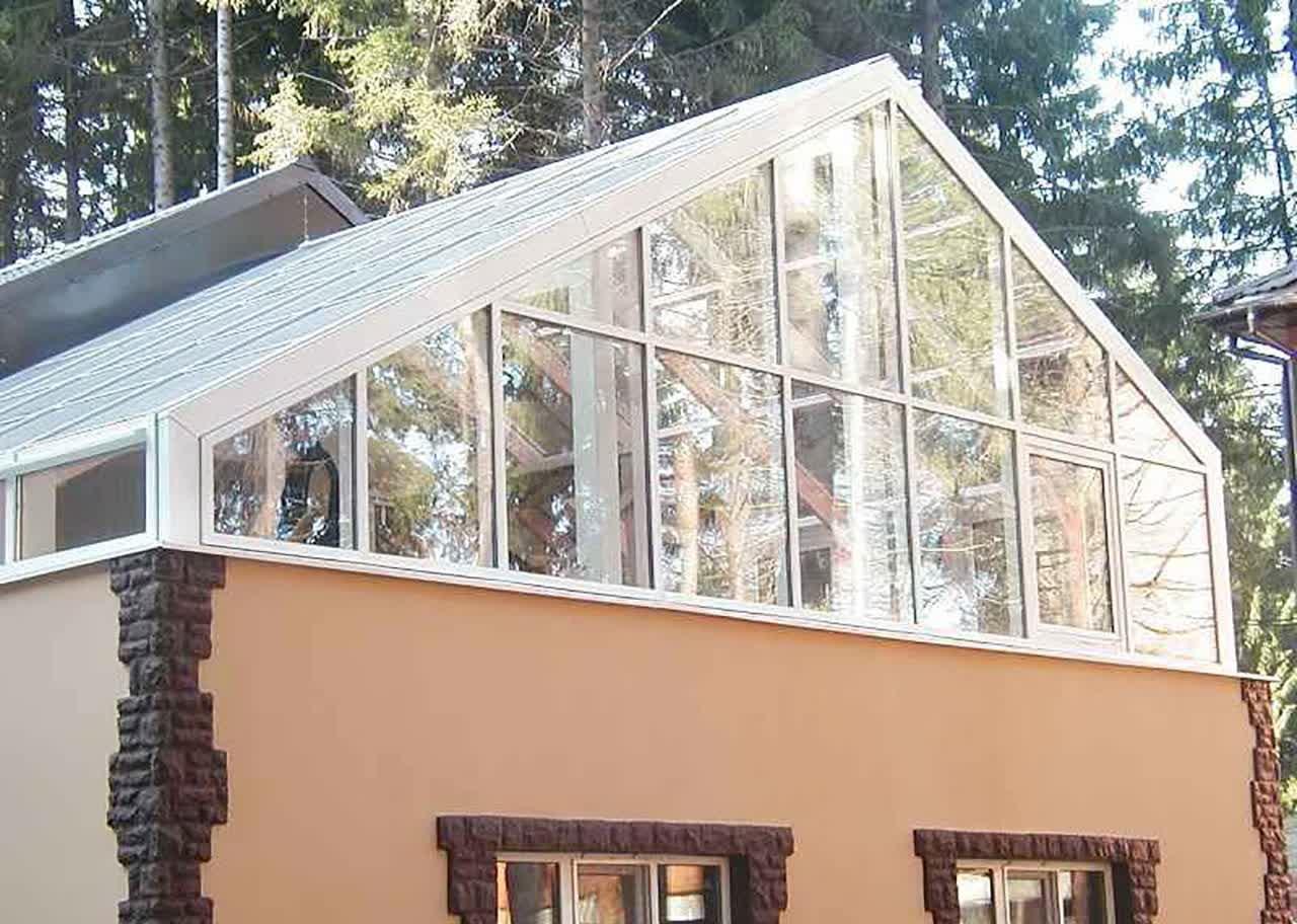 Крыша для парника